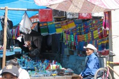 The colors of Market Day.