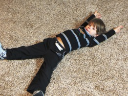 Carpet Angel Ezekiel