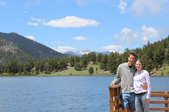 Learning to use the timer setting on my camera by Lily Lake.